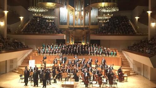 Orquesta Sinfónica Chamartín en el Auditorio Nacional (Madrid)