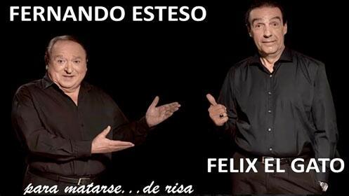 Dos Hombres y Un Vespino con Fernando Esteso (Arganda del Rey)