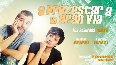 Entradas A protestar a la Gran Vía en Madrid