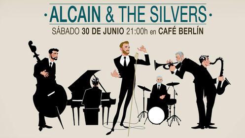 Entradas Alcaín & The Silvers Madrid - Café Berlín