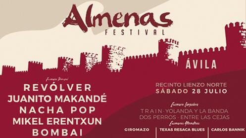 Entradas Almenas Festival Ávila 2018