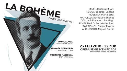 Entradas La Bohème en el Auditorio Nacional