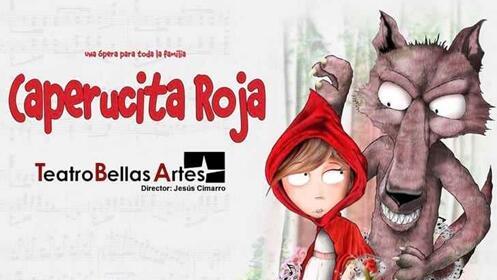 Entradas Caperucita Roja. Tu primera ópera (Madrid)