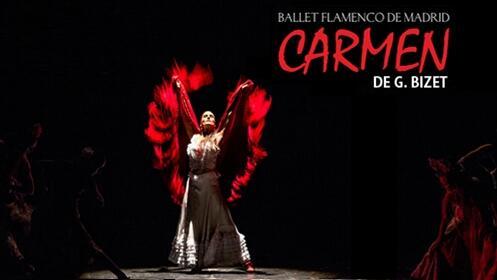 Entradas Carmen de Bizet, Ballet Flamenco