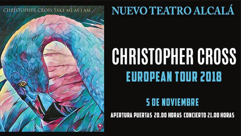 Entradas Christopher Cross Madrid