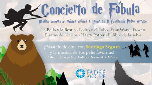 Entradas Concierto de Fábula en el Auditorio Nacional de Madrid