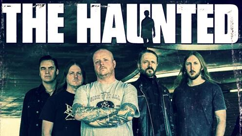 Entradas The Haunted en Vigo, Bilbao, Zaragoza, Madrid, Murcia, Valencia y Barcelona