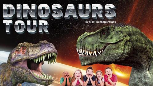 Entradas Dinosaurs Tour Madrid