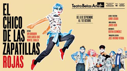 Entradas el Chico de las Zapatillas Rojas Madrid