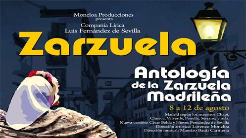 Entradas Antología de la Zarzuela Madrid