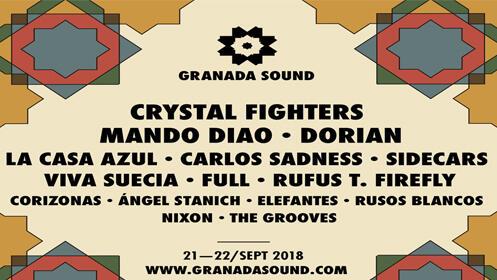 Entradas Granada Sound 2018