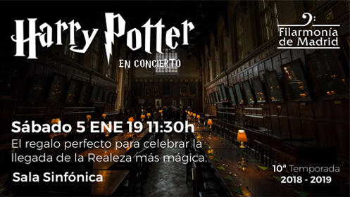Concierto Harry Potter Madrid