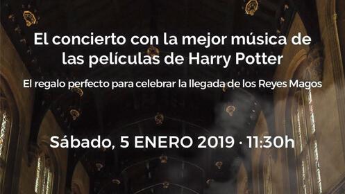 Concierto Harry Potter Madrid