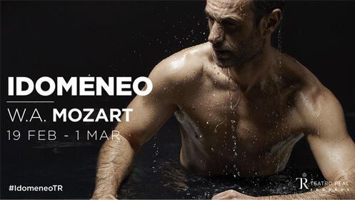 Idomeneo en el Teatro Real + Cena