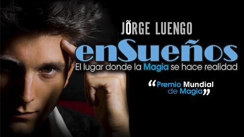 Entradas Ensueños de Jorge Luengo en Madrid