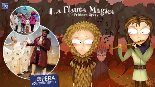 Entradas la Flauta Mágica, tu primera ópera Madrid