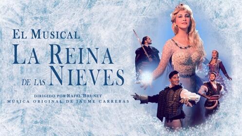 Entradas La Reina de las Nieves, El Musical en Madrid