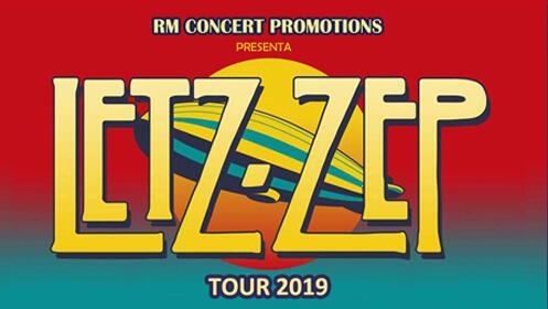 Entradas Letz Zep Tour 2019