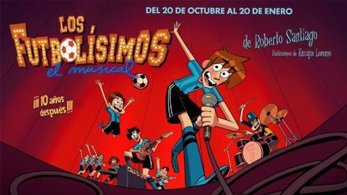 Entradas Los Futbolísimos Madrid