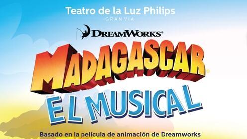 Entradas Madagascar, El Musical en Madrid