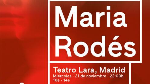 Entradas Maria Rodés Madrid