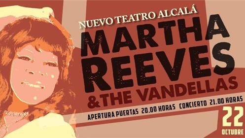 Entradas Martha Reeves and The Vandellas Madrid