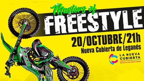 Entradas Masters Of Freestyle en Leganés