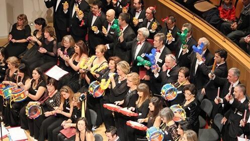 Concierto Música y Juguetes en el Auditorio Nacional