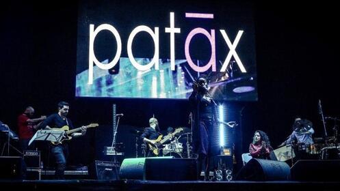 Entradas Patax en el Café Berlín