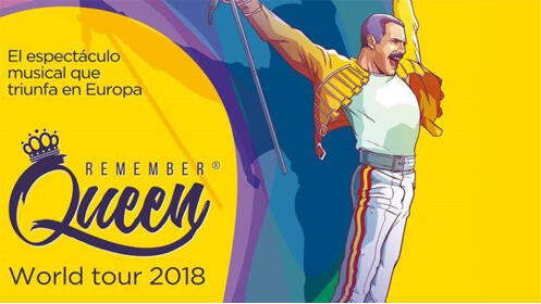 Entradas Musical Remember Queen Madrid