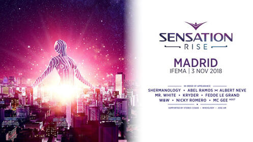 Entradas Sensation Madrid 2018