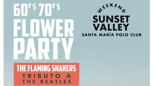 Entradas Sunset Valley Festival Sotogrande - Flower Party