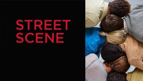 Street Scene en el Teatro Real + Cena