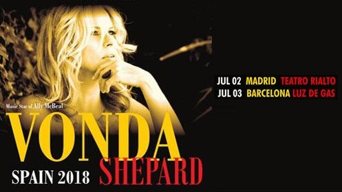 Entradas Vonda Shepard Madrid y Barcelona