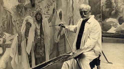 Entradas Exposición Alphonse Mucha en el Palacio Gaviria
