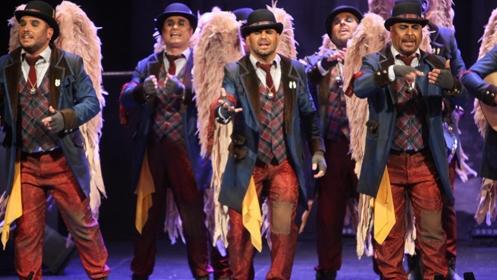 Noche de Carnaval: Los Ángeles de la Guarda de los Carapapas
