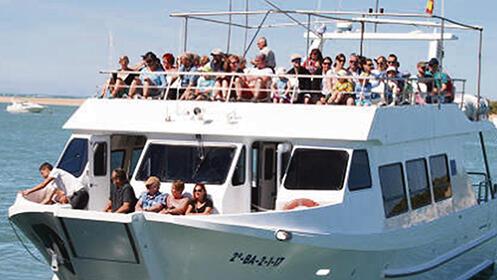 Excursión en catamarán por Sancti Petri