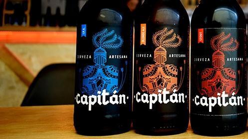 Cervezas artesanas Capitán