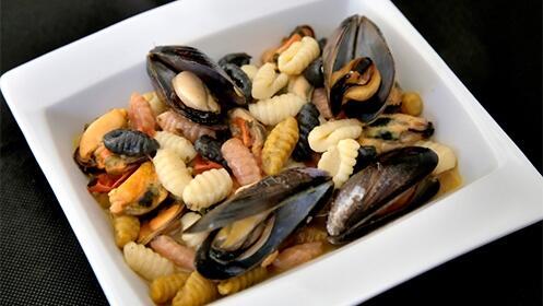 Exquisita cocina italiana para dos