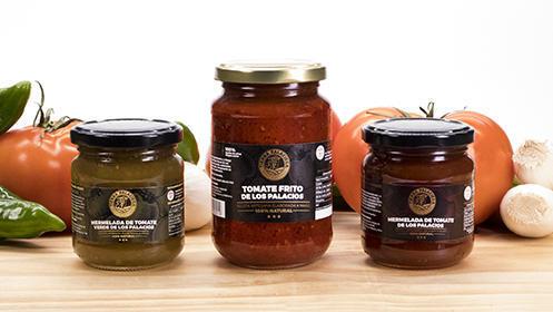 """Lote de conservas de tomate """"Tierra Palaciega"""""""