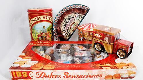 Dulces tradicionales artesanos