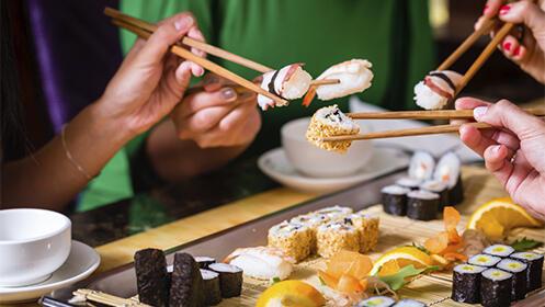 Menú japonés para 2 ó 4 personas