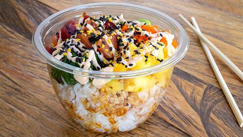 Mupanky Bowls. Cocina hawaiana en el centro