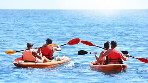 Kayak o Paddle surf en las playas de Huelva