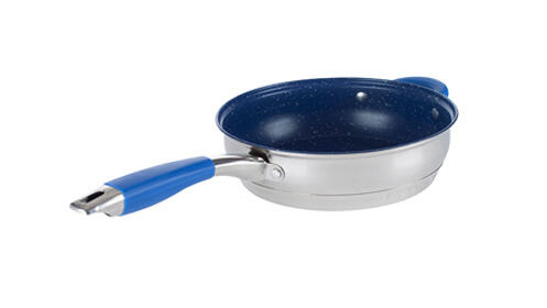 Batería de cocina color azul de 12 piezas