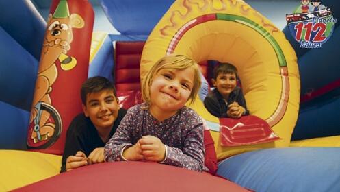 Parque infantil Planeta 112. Dos horas de juegos