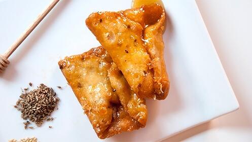 2 bandejas de Pestiños de miel Severino Rosa
