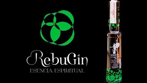 Pack de 4 botellines de ginebra Rebugin
