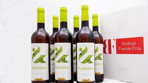 Vino blanco Escudo de Constantina